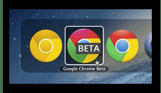Изображение Chrome Beta для macOS