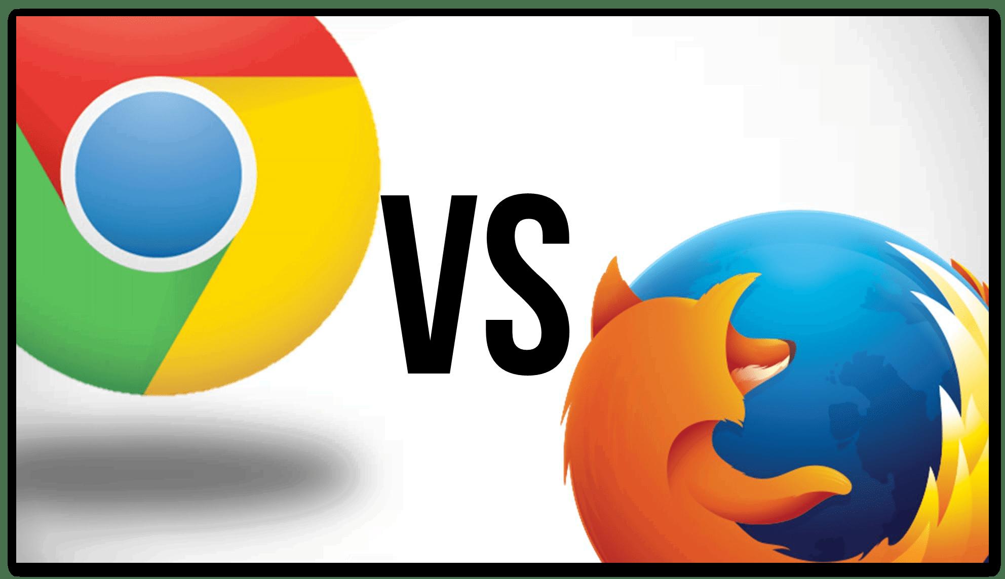 Изображение Mozilla Firefox vs Google Chrome