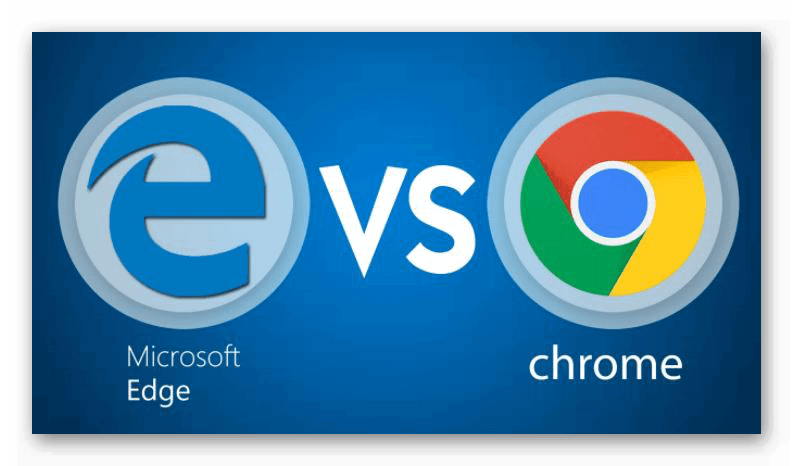 Картинка Chrome vs Edge