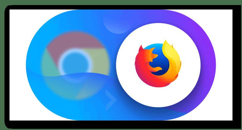 Картинка Логотипы Firefox и Chrome