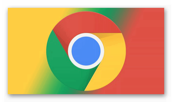 Стильный логотип Google Chrome