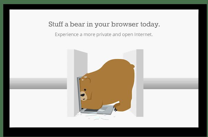 Изображение Расширение TunnelBear VPN