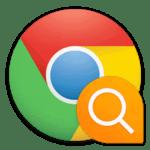 Не работает поиск в Google Chrome