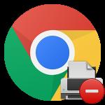 Не работает печать в Google Chrome