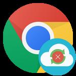 Приостанавливается синхронизация в Google Chrome